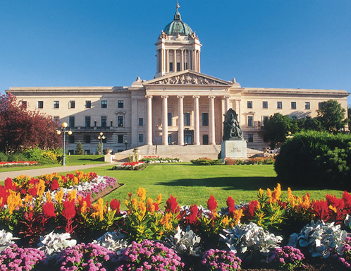 The Manitoba Legislative Building